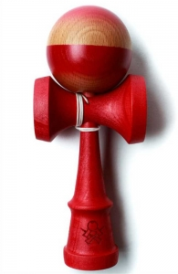 Sweets Kendama Prime Custom V9 Ruby | Cushion Clear