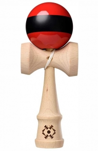 Tribute Kendama Single Stripe  | Red Black
